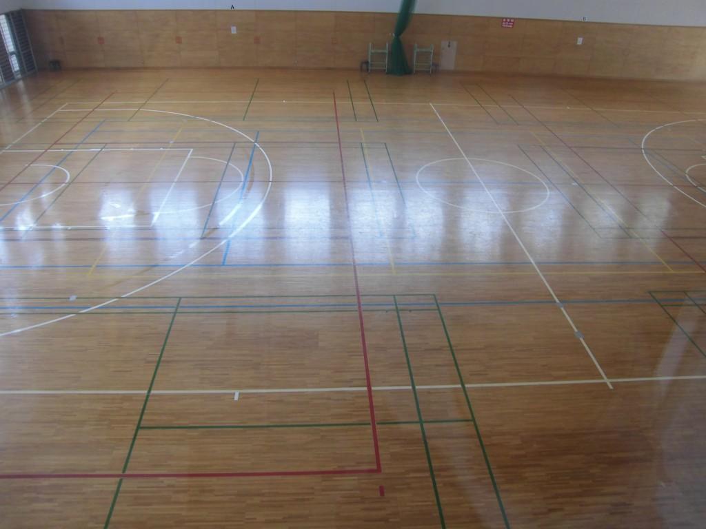 新潟県の体育館2